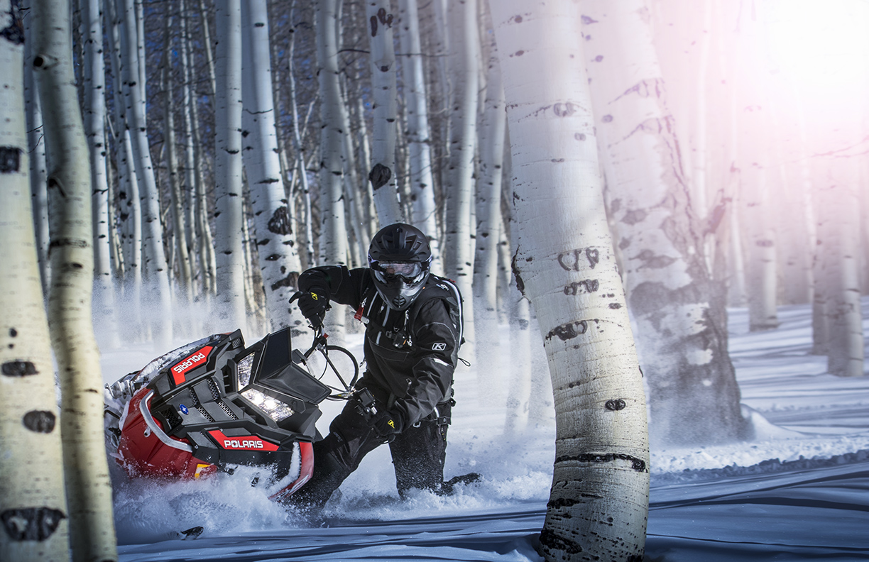 Fourth Year With Polaris Wraps Up Snowmobiling